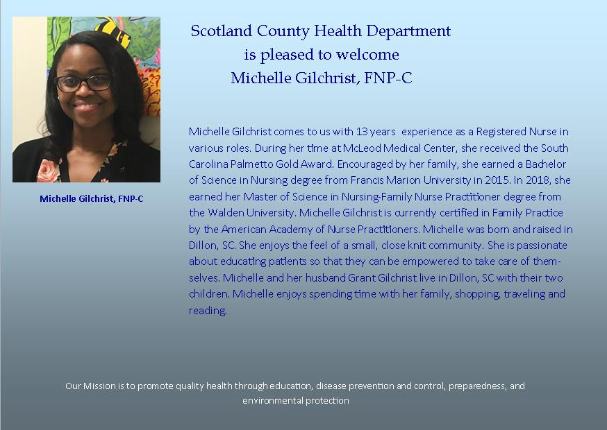 Michelle Gilchrist Post Card