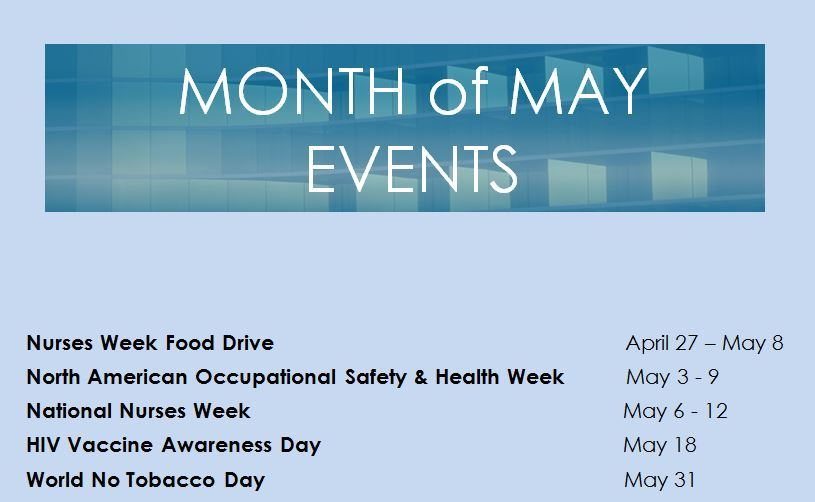 May Events