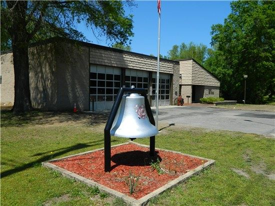 North Central Scotland Fire Department Bell