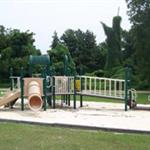Gibson Park Playground With Slide