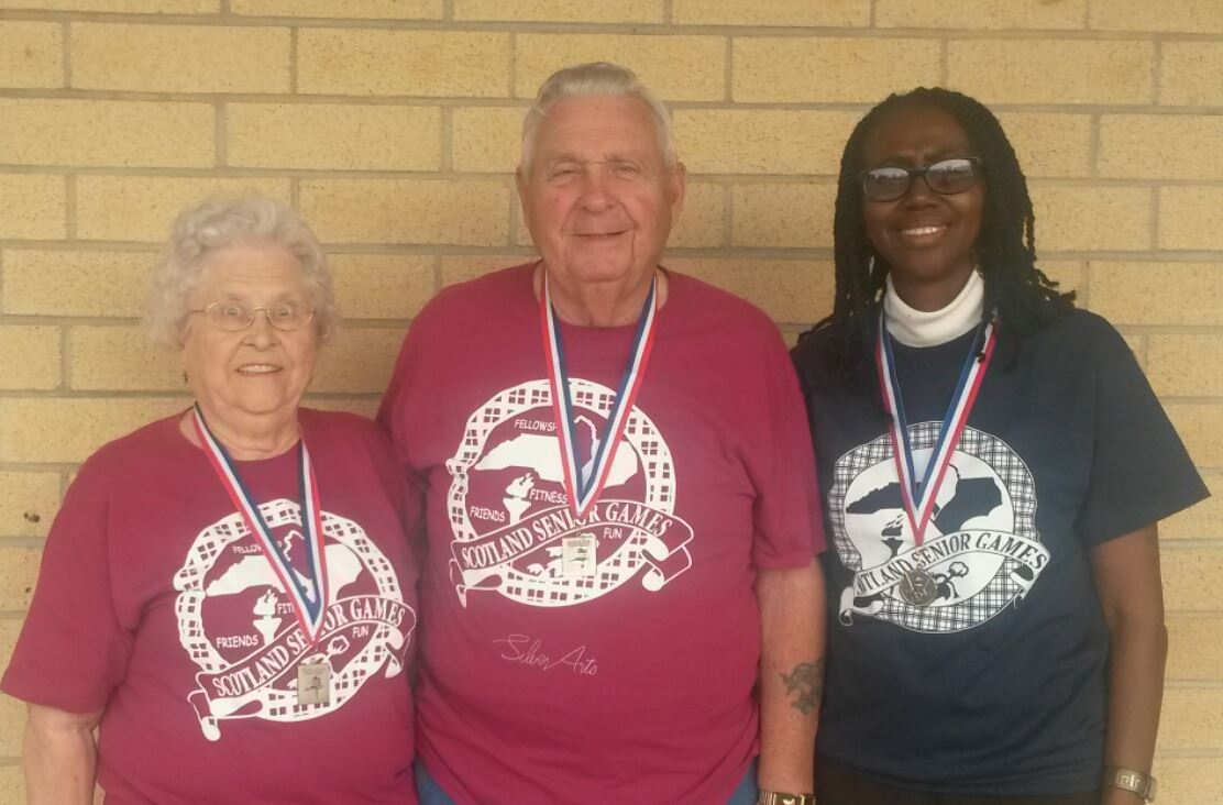 Scotland County Senior Games NC Senior Games 2015 State Finals Medal Winners